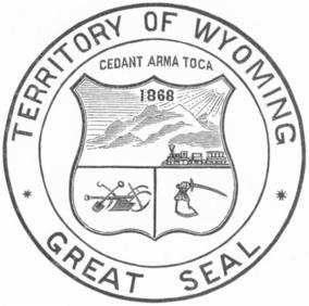 Campbell, Proclamation, Thanksgiving Day 11-12-1874, Territorial Seal detail